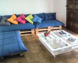 mesinha e sofa pallets