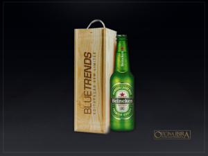 Caixa estojo de madeira para garrafa long neck – acabamento natural – personalizada com gravaçao a laser (2)