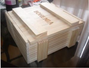 OFI 48 - caixote pinus sarrafeado