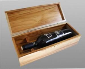 caixa vinho madeira teca