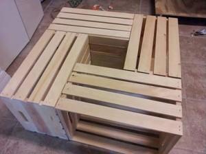 40 - mesa de centro caixote personalizado