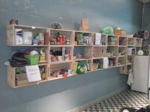 Armario de caixotes para parede - ref cozinha