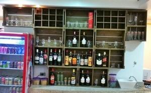 Armario - modulo para bebidas de caixotes