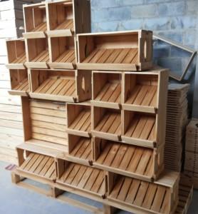 Expositor com prateleiras inclinadas - Fabricamos sob encomenda - Ref. Artwalk