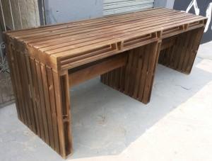 Mesa de Pallets - Fabricada sob encomenda - ref Jumbo