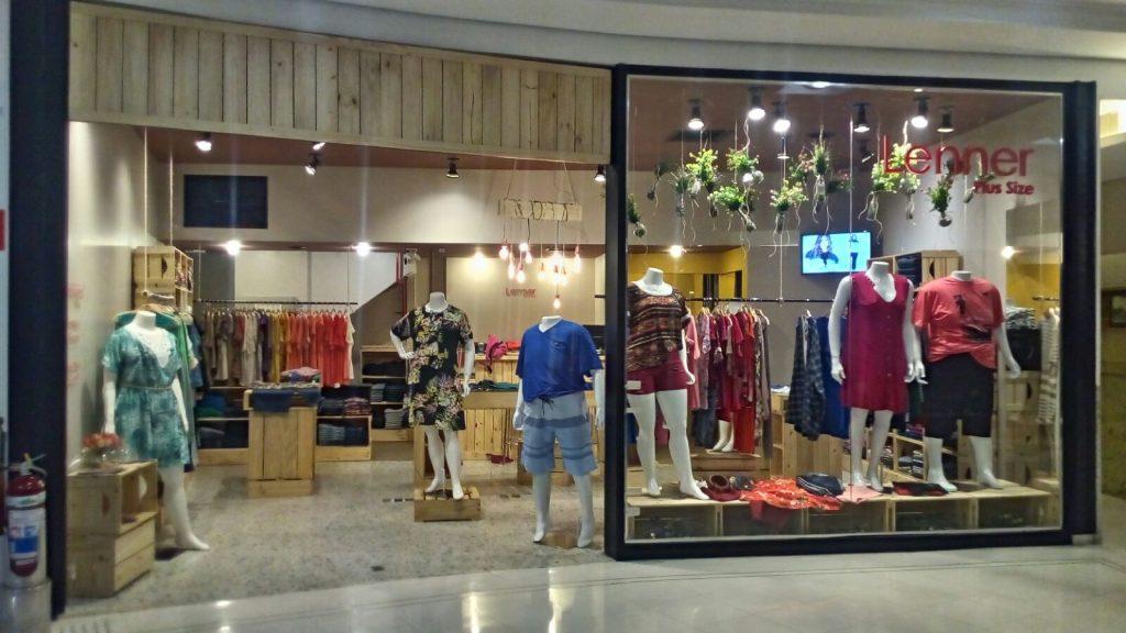 loja com caixotes - fachada projeto loja lenner