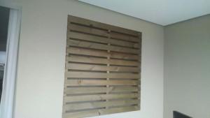 painel ripado para fechamento de janela