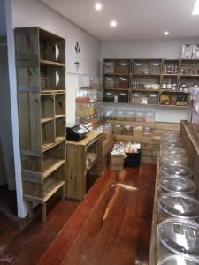 projeto loja de cereais -estante modular e expositores