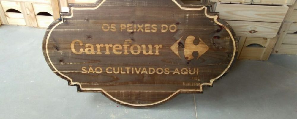 Placa de Madeira Personalizada - Fabricamos sob encomenda, diversos tamanhos e formatos
