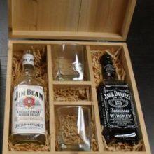 caxia para bebidas e copos