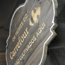placa de madeira gravada a laser - projeto mercado masterchef